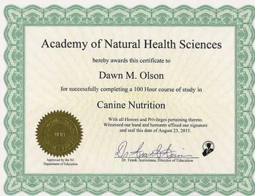 canine nutrition litleton co